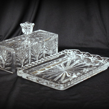Waterford crystal butter dish and vase ? - Glassware