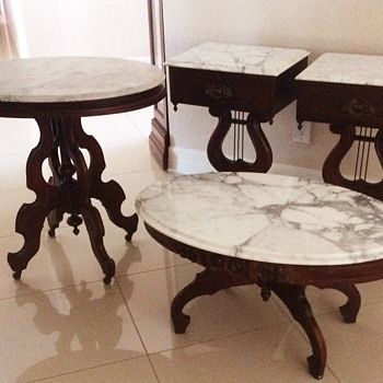 Reproduction Victorian tables