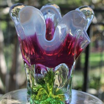 Hospodka for Chribska - Art Glass