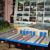 Tram depot diorama
