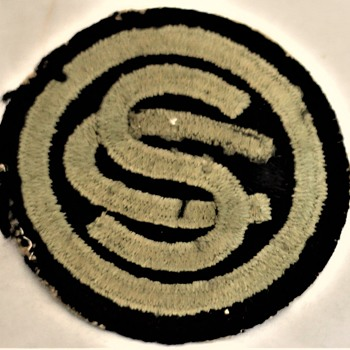Vintage WWII unit patch - Military and Wartime