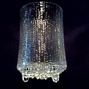 "One Is Better Than None ....Vintage Ittalia 'Ultima Thule'  5 "" Glass / Designed by Tapio Wirkkala Circa 1968   - Art Glass"