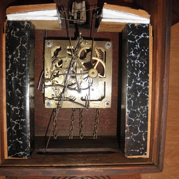 who is J Miller & Co German clock maker - Clocks