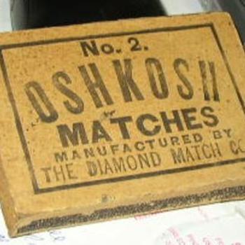 Oshkosh Matches #2 Diamond Match Co.  - Tobacciana
