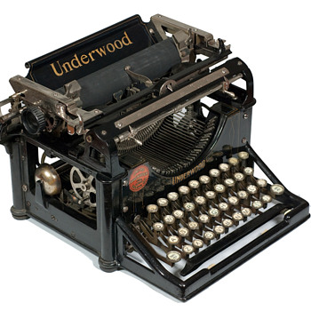 Underwood 1 typewriter - 1896