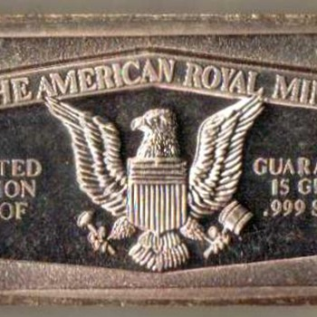 American Royal Mint - Eagle Ingot - Gold
