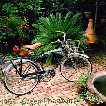 The Green Phantom Bicycle - Sporting Goods