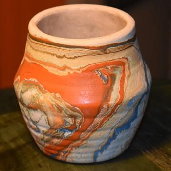 Another Nemadji Pot - Pottery