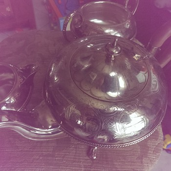 sterling tea set need information  - Silver