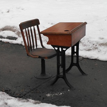 School Desk with Chair - Furniture