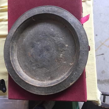 OLD Meriden Quadruple Plate Tray??? Markings on Bottom.  Rough But Interesting. How old Really??? - Silver