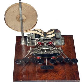 Stenograph machine - 1882 - Office