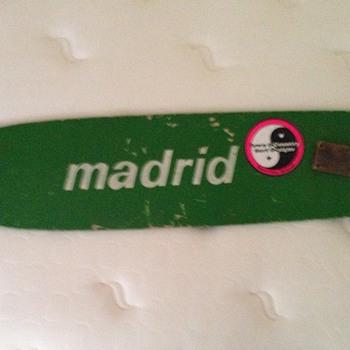 Madrid 1970's longboard