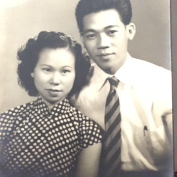 My beloved grandparents - Photographs
