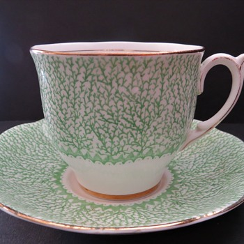 Bell Fine Bone China Cup and Saucer - Pattern 4332 - China and Dinnerware