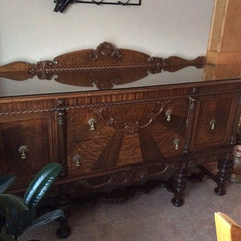 Buffet or sideboard? Antique or not?