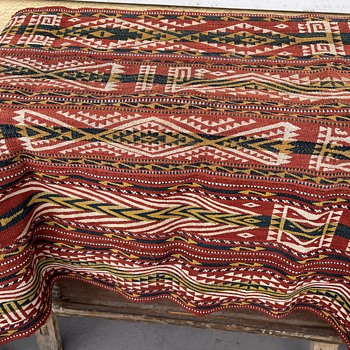 Gajari Flat Woven Carpet - Rugs and Textiles