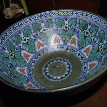 Grandmother's Art Pottery Bowl--Holland? - Pottery