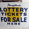 PA Lottery Sign