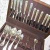 quasi-antique sterling flatware