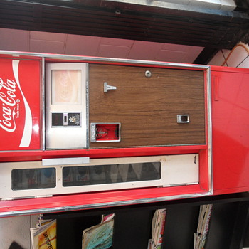 old coke machines  - Coca-Cola