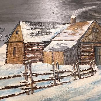 Elwell oil Painting - Fine Art