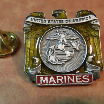 Marines United States Marine lapel pin - Medals Pins and Badges