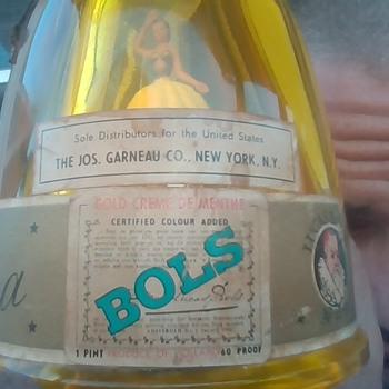 Lucas Bols Ballerina Gold Cream De Menth 60 Proof  - Bottles