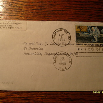 Moon Landing - Stamps