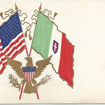 USA & ITALY 1906 POSTCARD - Postcards