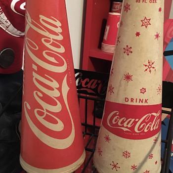 Coca-Cola Vintage Cups - Coca-Cola