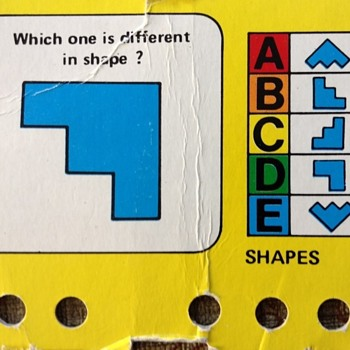 Kids quiz game - Help me identify