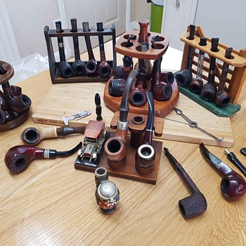 Vintage Pipe Collection - Tobacciana