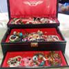 Mele vintage jewellery box