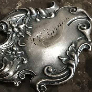 What is it? Old Sterling piece? - Art Nouveau