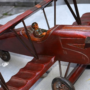 Beautifully-made Antique Model Airplane - Toys