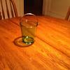 Green Depression Glass Ice Bucket