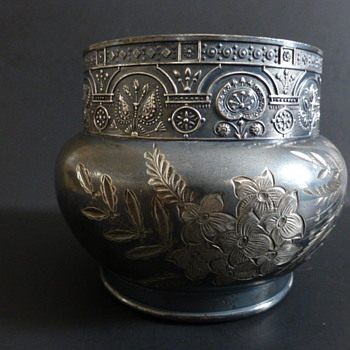 Barbour Bros. silver plated 992 pattern bowl, ca 1881-1891 - Silver