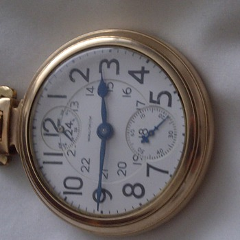 1926 waltham pocket watch