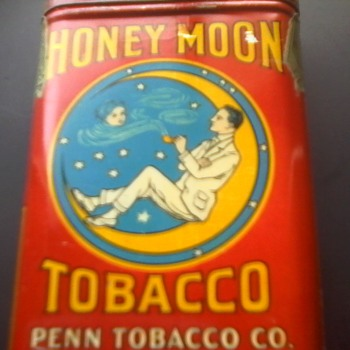 Honey Moon Pocket Tin - Tobacciana