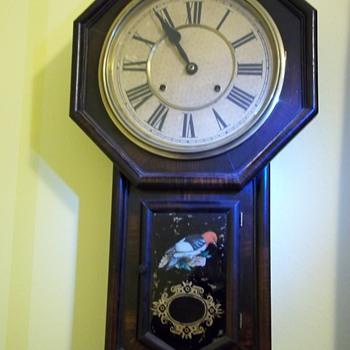 Sessions Clock (Woodpecker) - Clocks