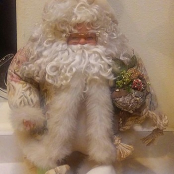 Thrift Shop Santa Claus Find - Christmas