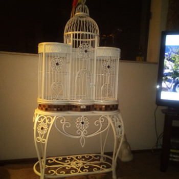 Vintage Bird Cage - Furniture