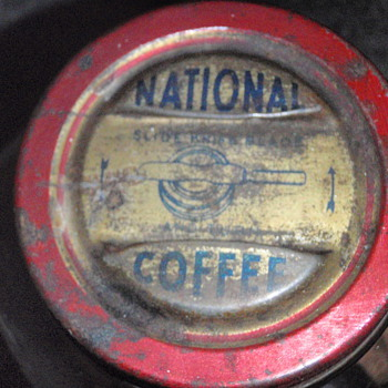 National Coffee Glass Jar - Kitchen