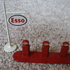 LESNEY MATCHBOX ESSO PUMPS AND SIGN