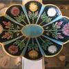 Wedgwood Majolica Chrysanthemum platter