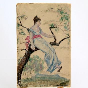 Oriental Look Painting on Silk? - Fine Art