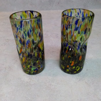 CONFETTI GLASSES - Art Glass