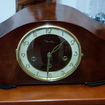 Jauch Mantle Clock restored