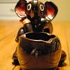 Lusterware Elephant Ashtray